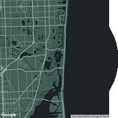 map miami Frame