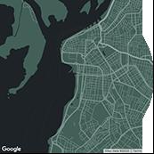 map porto-alegre Frame
