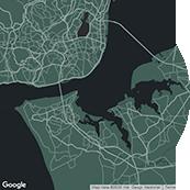 map portugal Frame