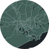 map sao-paulo Frame